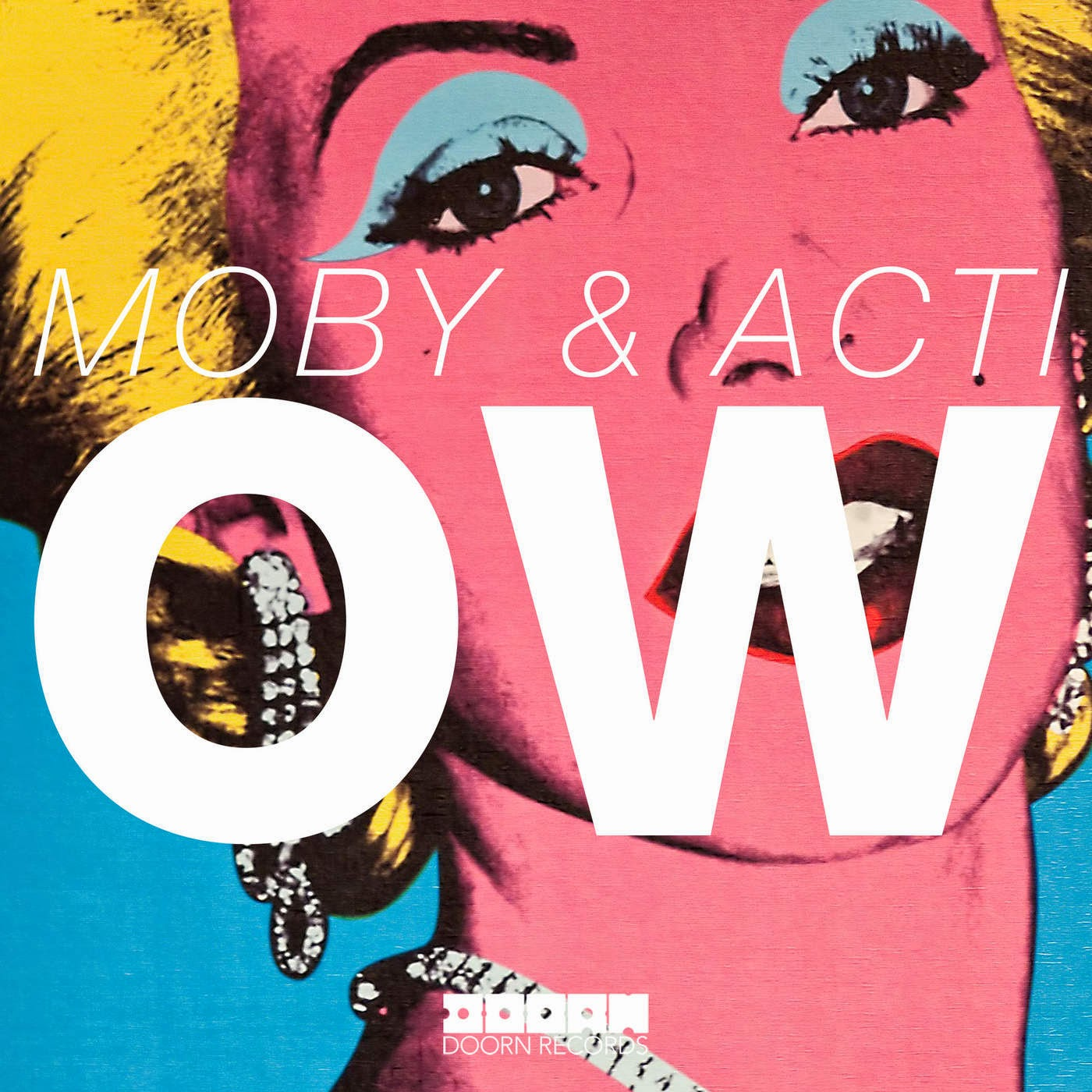 Moby & Acti - Ow - Single  Cover