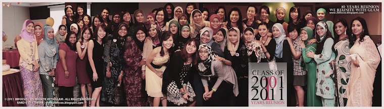 10 Years Reunion | SMK Convent Taiping Batch 1997-2001 | We Reunite with Glam |
