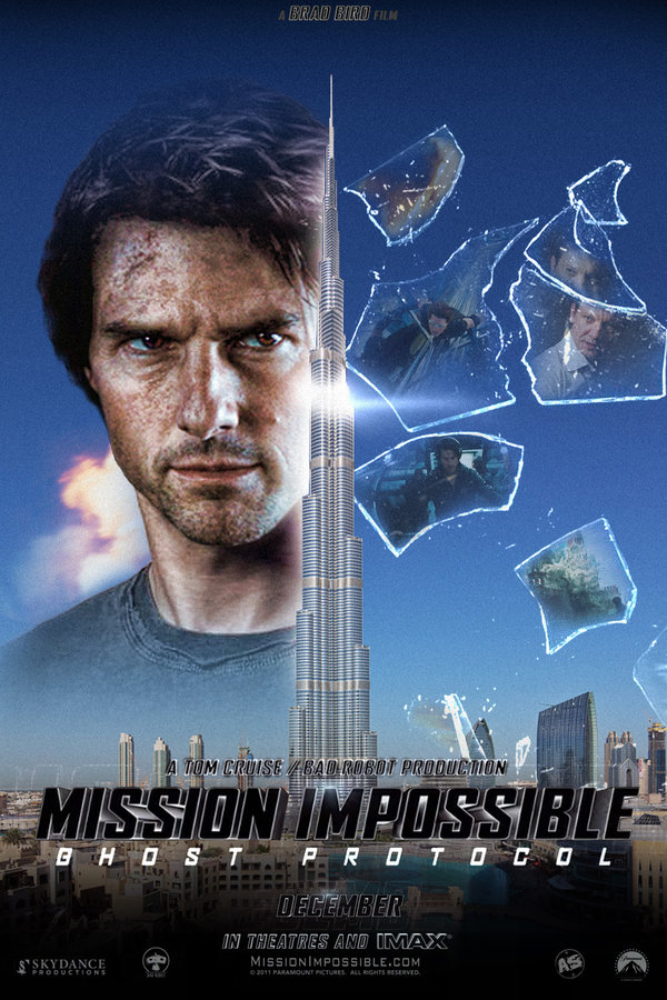 Mission Impossible 4: November 2011