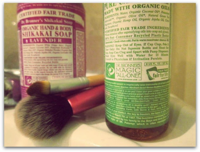 Dr Bronner's Castile Green Tea Liquid Soap