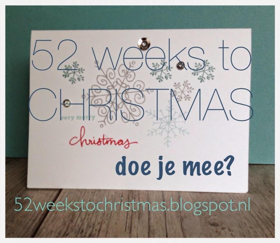 Wil je iedere week een Kerst kaart maken?