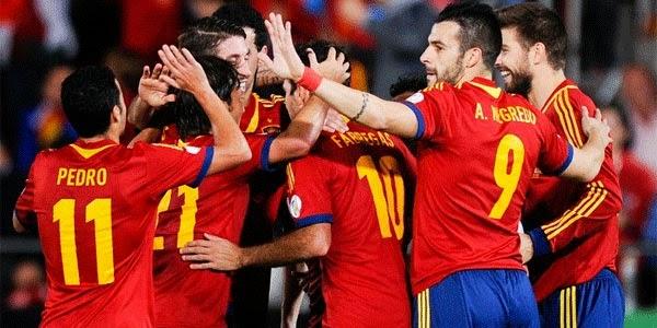 Video Gol Spanyol vs Belarusia 12 Oktober 2013