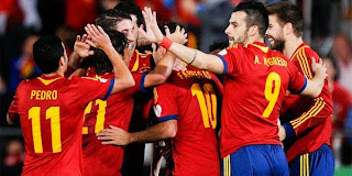Video Gol Spanyol vs Belarusia 12 Oktober 2013