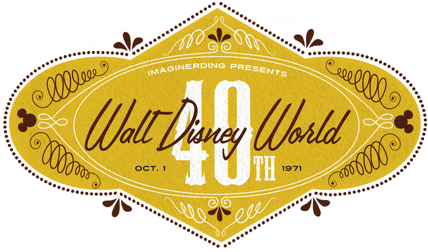 walt disney world logo 1971. Early Walt Disney World
