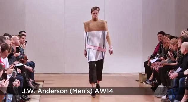 JW Anderson A/W 2014 Menswear