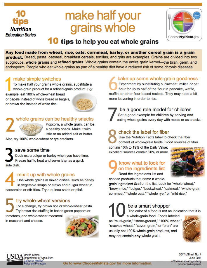 Examples Of Whole Grain Foods Pictures to Pin on Pinterest ...