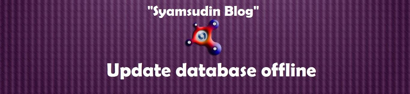 update offline Avast! Antivirus | Syamsudin Blog