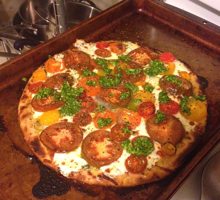 Heirloom Tomato Pizza | Hard Parade
