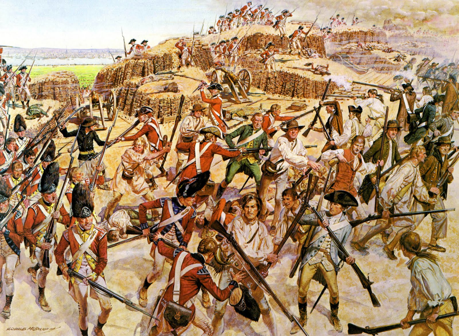 a history of the battle of bunker hill in the american revolutionary war The battle of bunker hill this is the website for the american military history starting with the revolutionary war we'll cover military engagements.