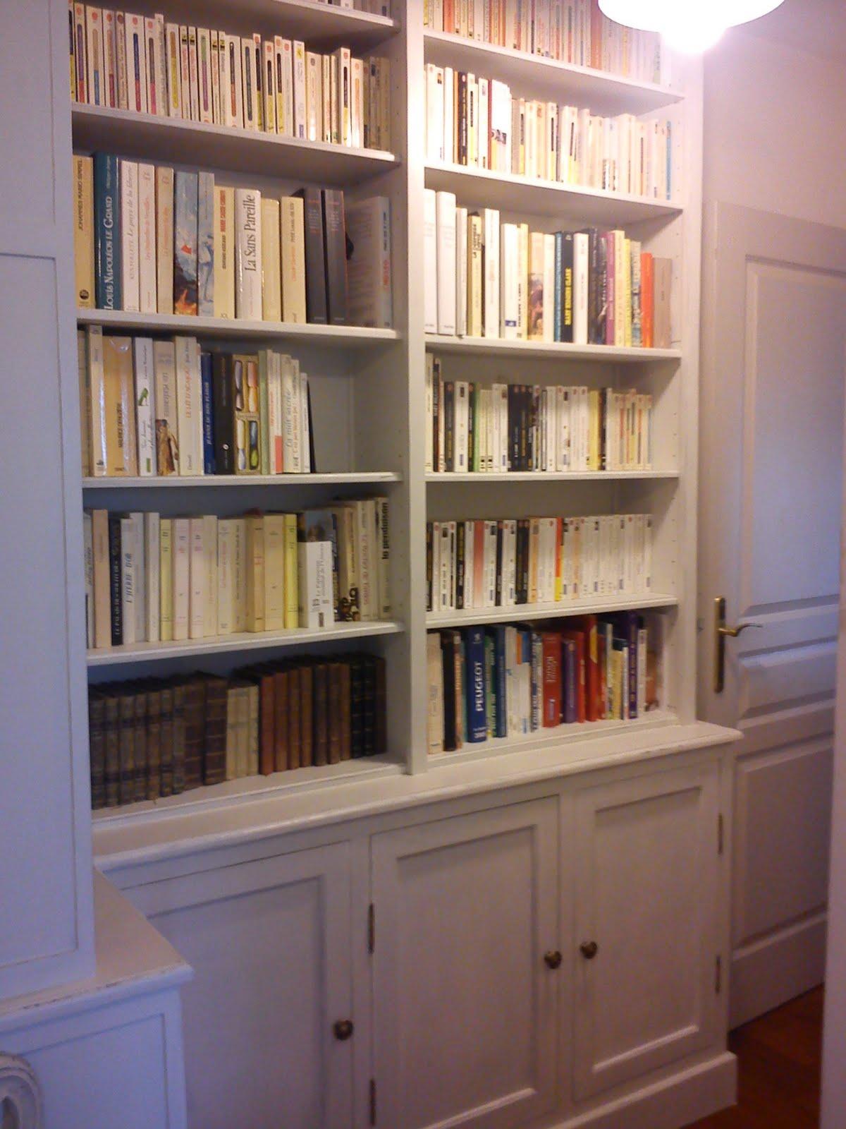 Dominique gilles eb niste bibliotheques - Bibliotheque en medium ...
