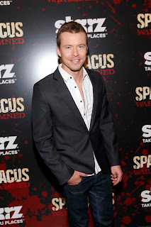 Todde Lasance at Spartacus War of the Damned Premiere event in NY
