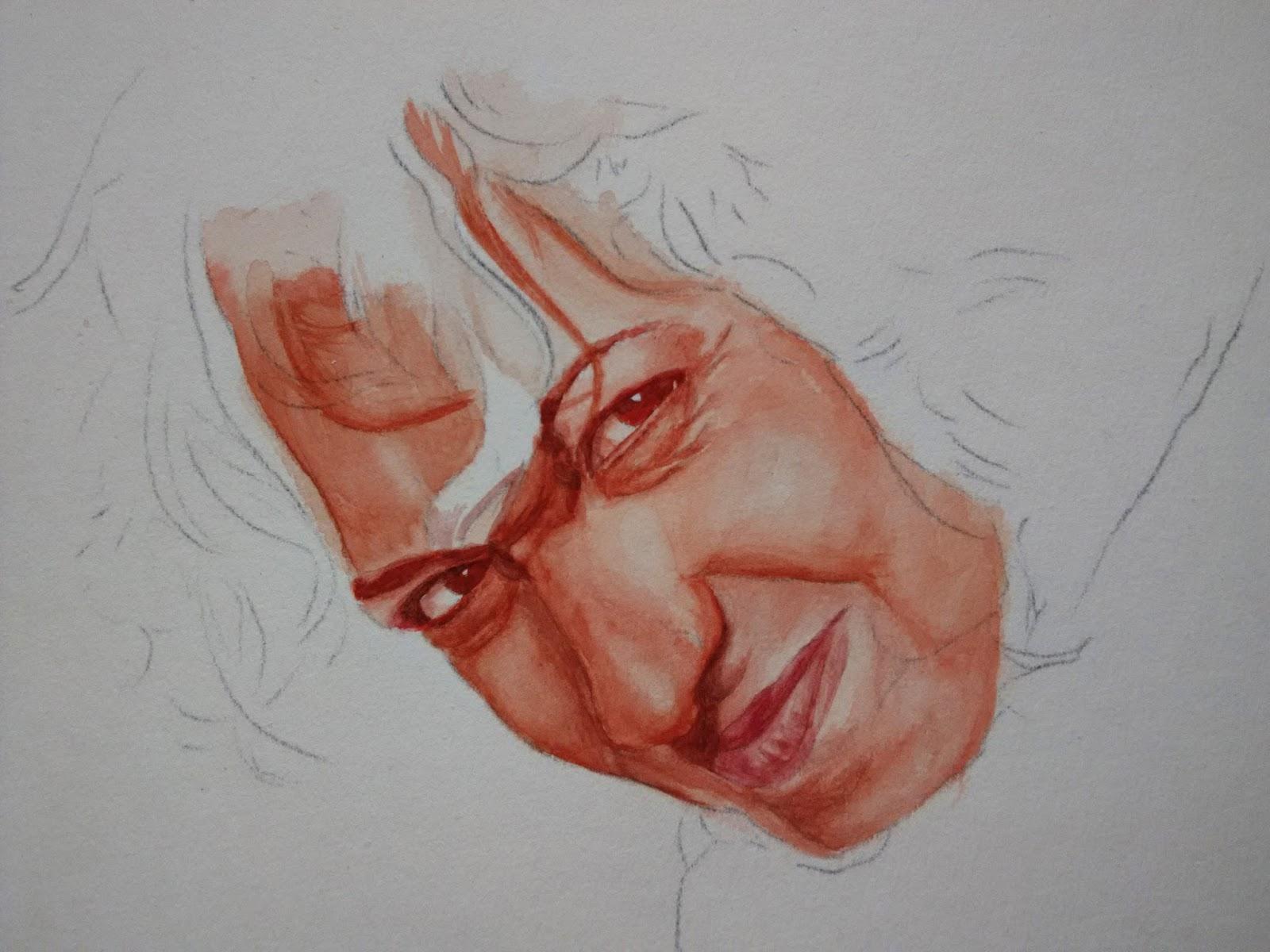 Proceso de un retrato