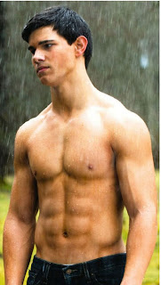 Shirtless Taylor Lautner