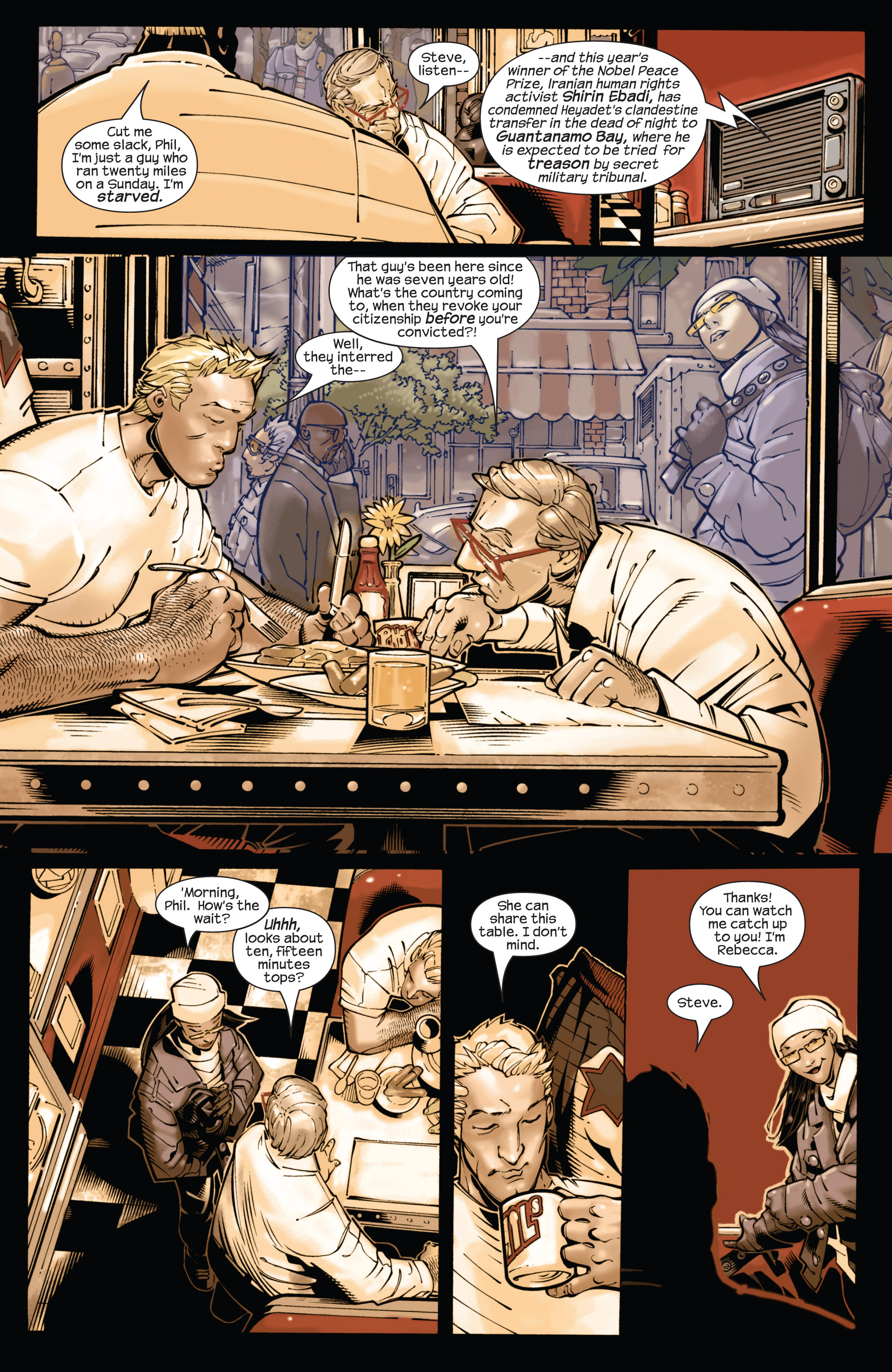 Captain America (2002) Issue #21 #22 - English 11