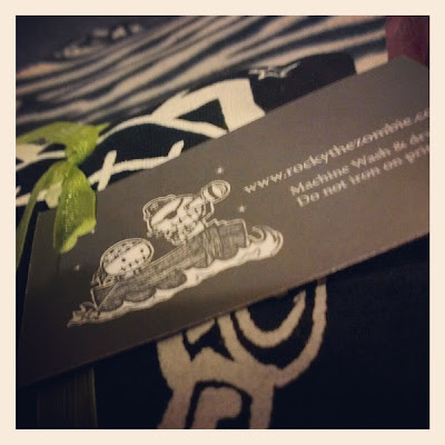Rocky The Zombie business card 1 KatSick