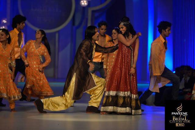Pakistan Celebrities Pantene Bridal Couture Week 2013 Album 9
