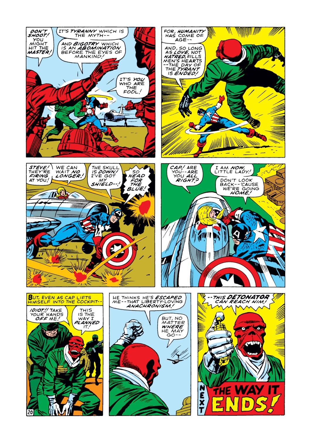 Captain America (1968) Issue #103 #17 - English 21