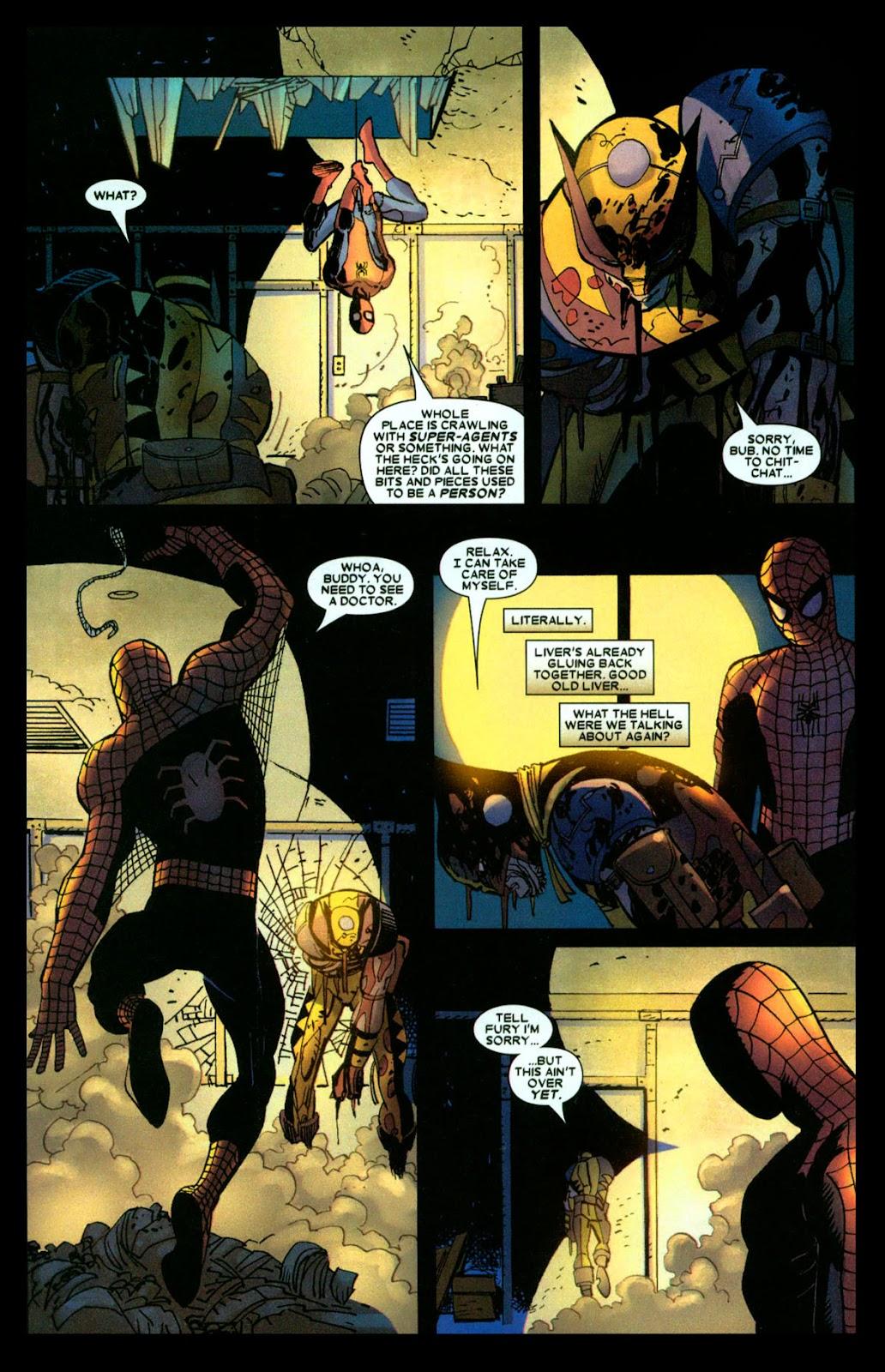Read online Wolverine (2003) comic -  Issue #31 - 18