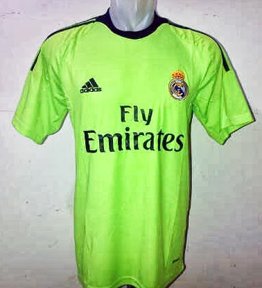 Real Madrid Jersey GK Green