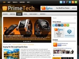 PrimeTech - Free Wordpress Theme