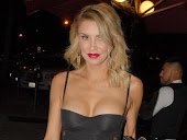 Brandi Glanville stunning cleavage in black dress