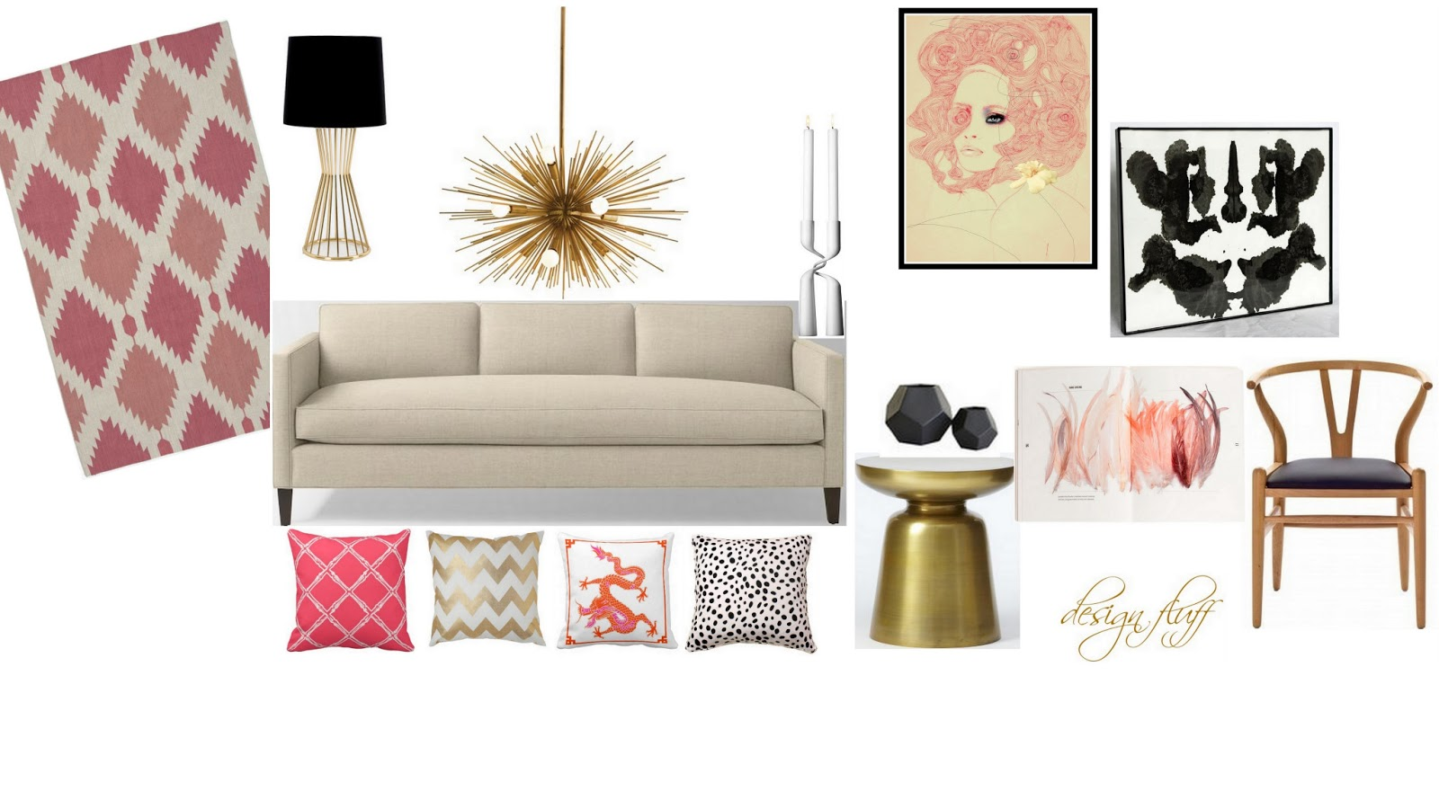 translating objects of inspiration to interior design