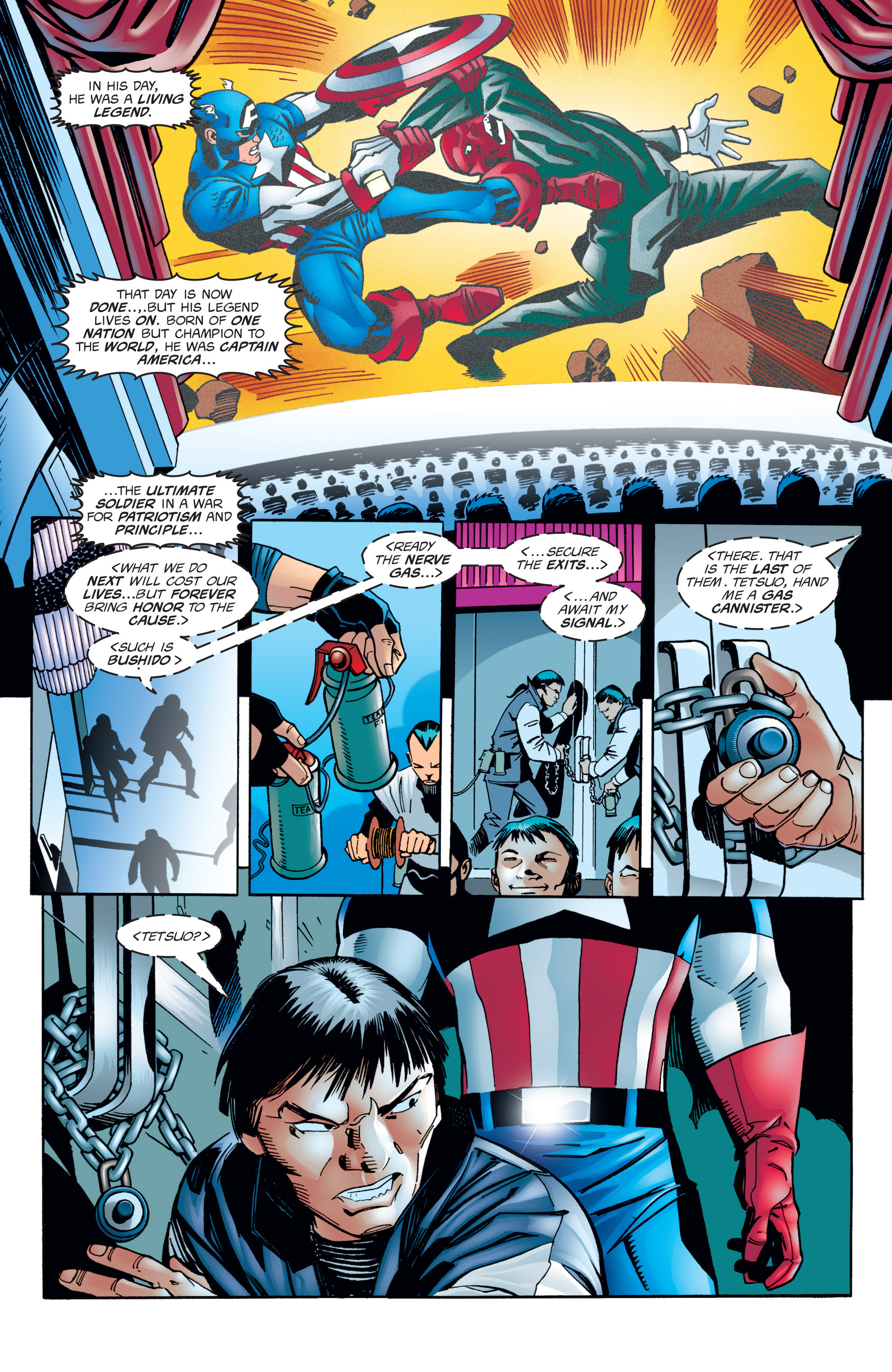 Captain America (1998) Issue #1 #4 - English 21