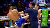 วิดีโอคลิปมวยไทย จอมโหด ซากามิ พบกับ ศักดิ์นรินทร์ อ.อ้วนสุวรรณ ( ศึกมวยไทย 7 สี วันอาทิตย์ที่ 3 พฤษภาคม 2558)(คู่ที่สี่)(คู่เอก)