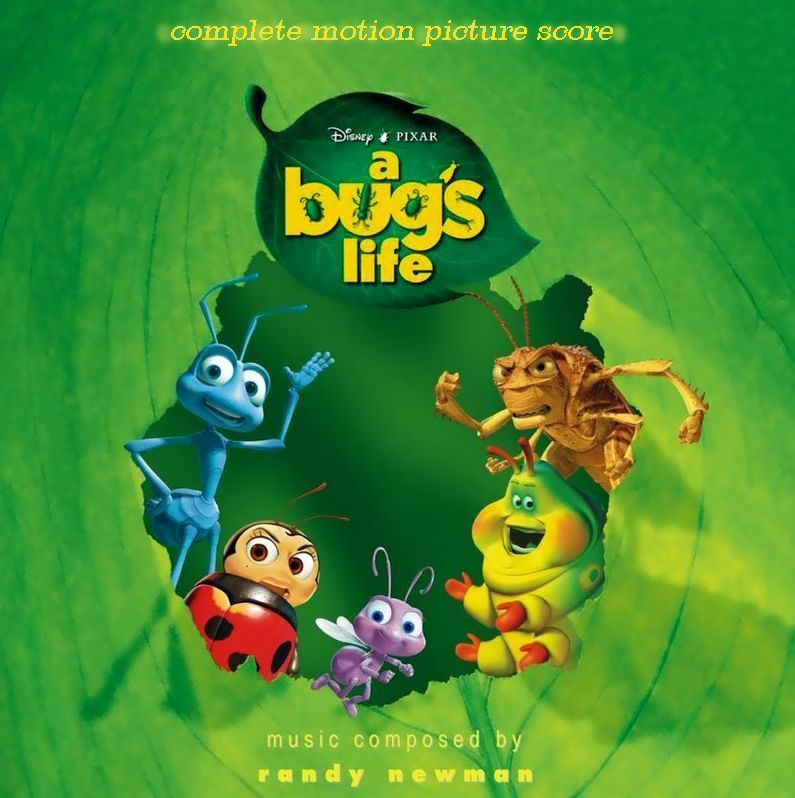 This is a graphic of Enterprising Characters in a Bug's Life