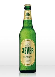 Botella de cerveza Jever Pilsener