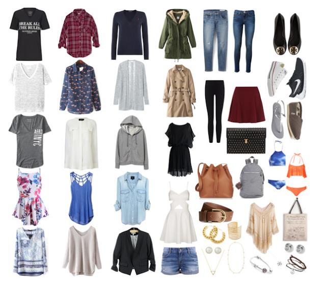 Closet minimalista fundo branco