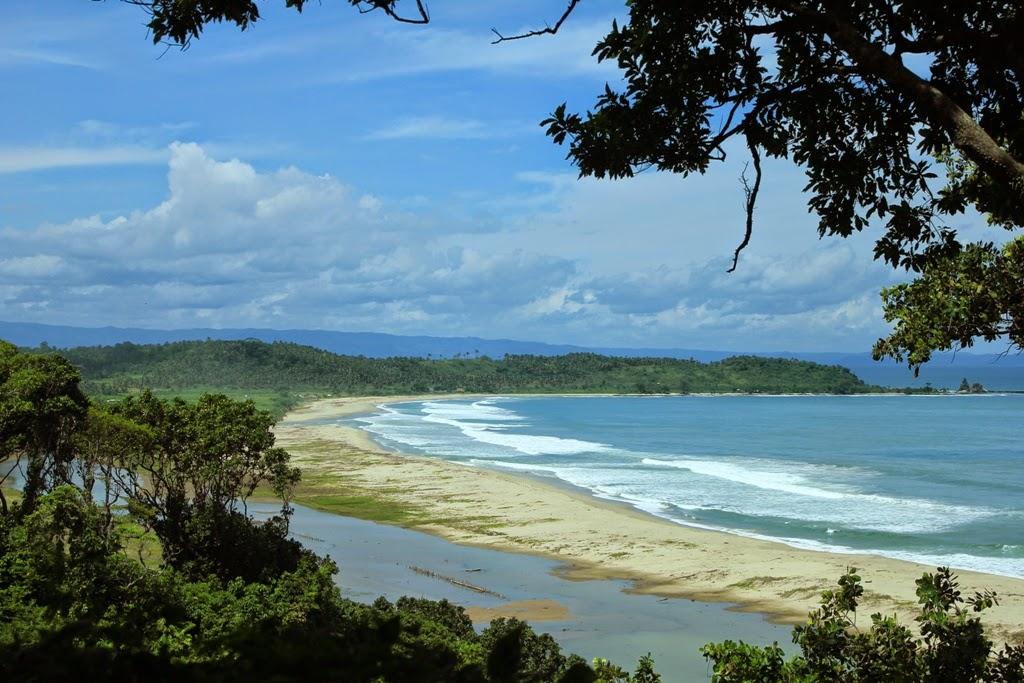 Pantai Biru Wisata Alam Medan Yang Menakjubkan