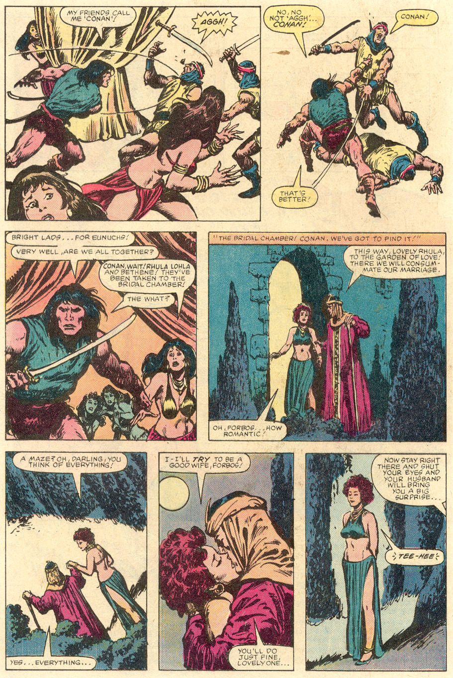 Conan the Barbarian (1970) Issue #142 #154 - English 15