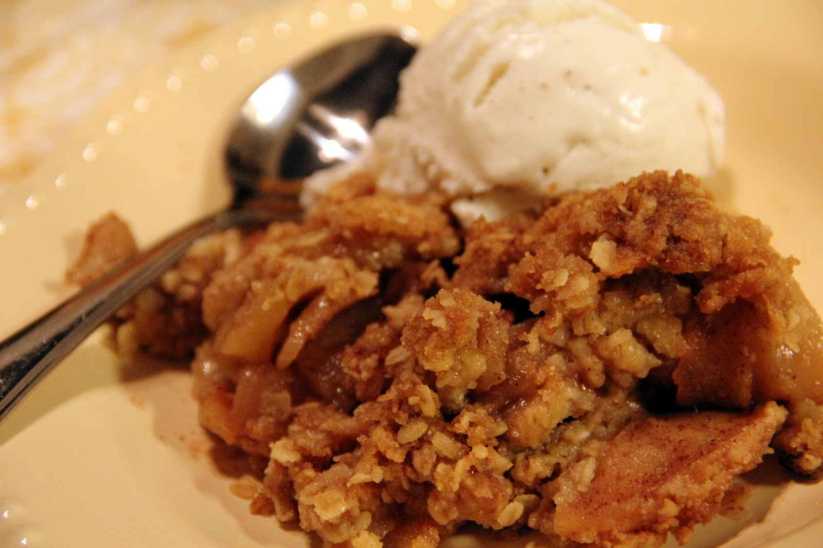 Hey Little Momma : apple crisp