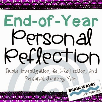 http://www.teacherspayteachers.com/Product/End-of-Year-Journey-Reflection-1207799