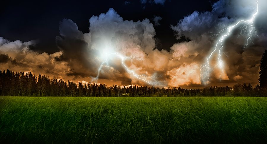 14. Stormy evening