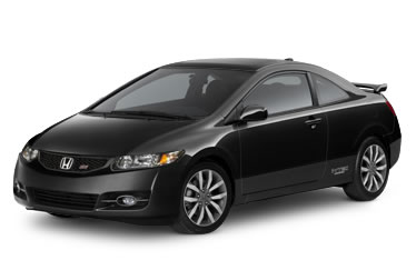 Honda civic si coupe black
