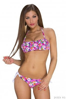 Costum de baie PowerFlower Fuchsia