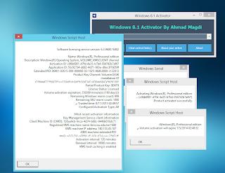 El Blog de Franchesko: Windows 8.1 Activator by Ahmad Magdi v3 [Activación Genuina de Windows 8 ...