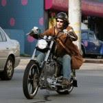 Gerard Butler celeb on motorcycles