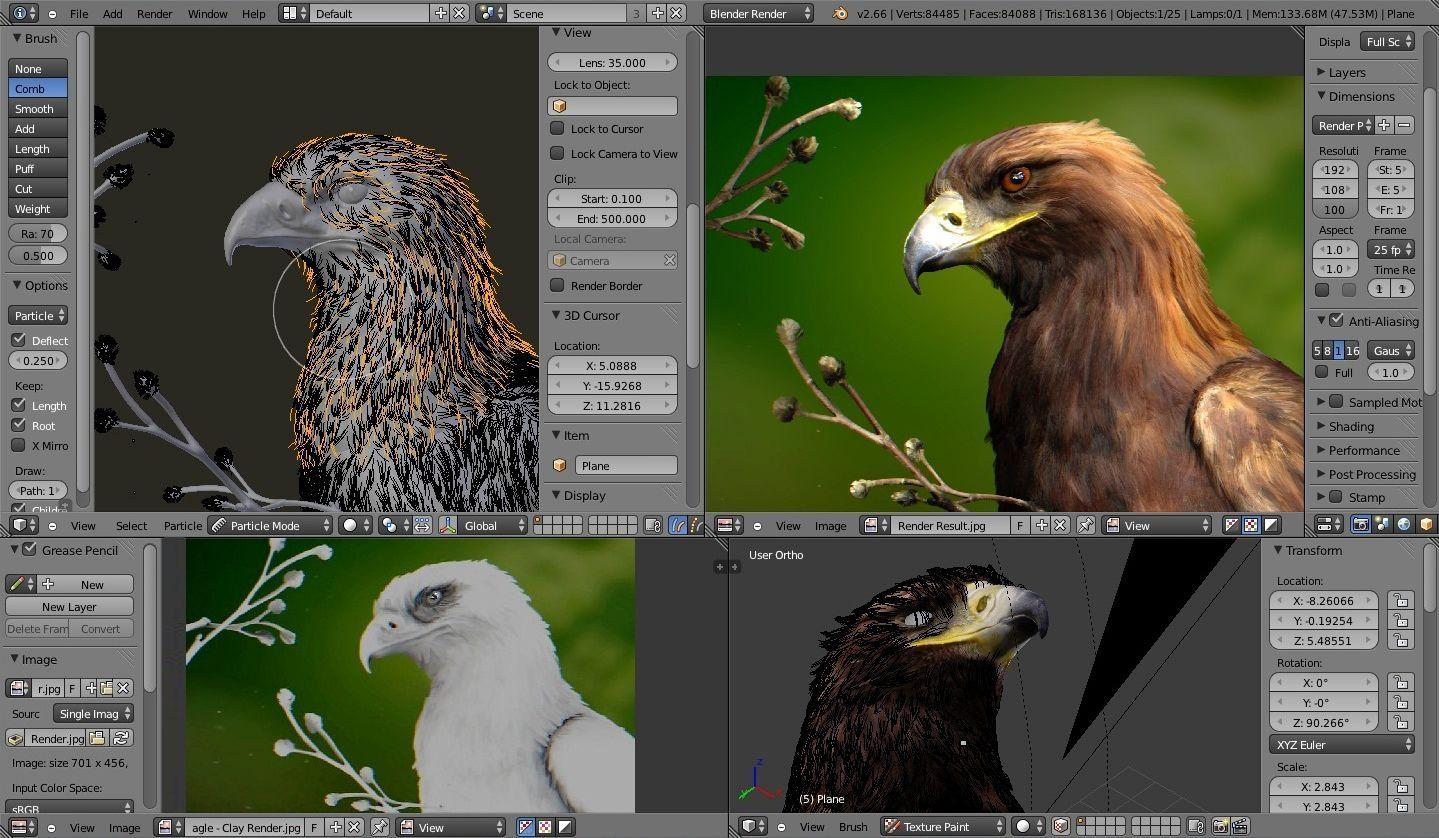 Contoh karya Blender 3D & Mengenal Blender 3D: Software Gratis Untuk Desain 3D | TRANSISKOM.COM