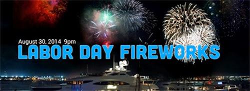 Boston Harbor Labor Day Fireworks