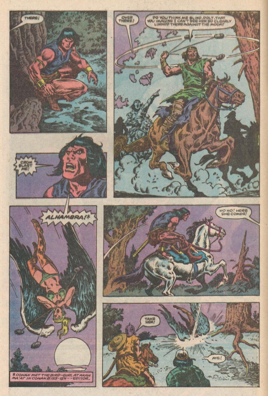 Conan the Barbarian (1970) Issue #168 #180 - English 3