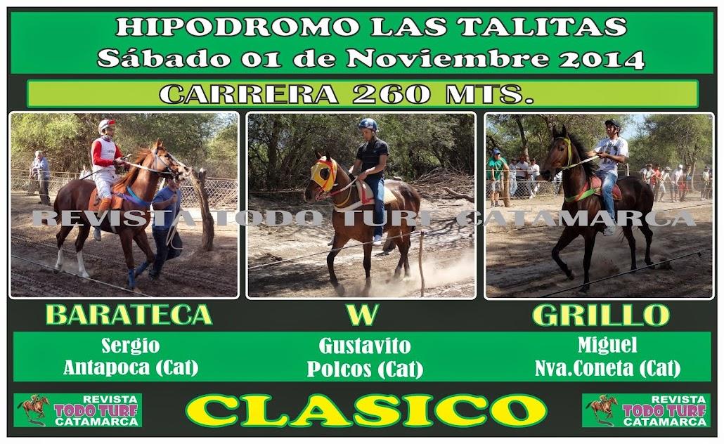 CLASICOS LAS TALITAS 01/11/2014