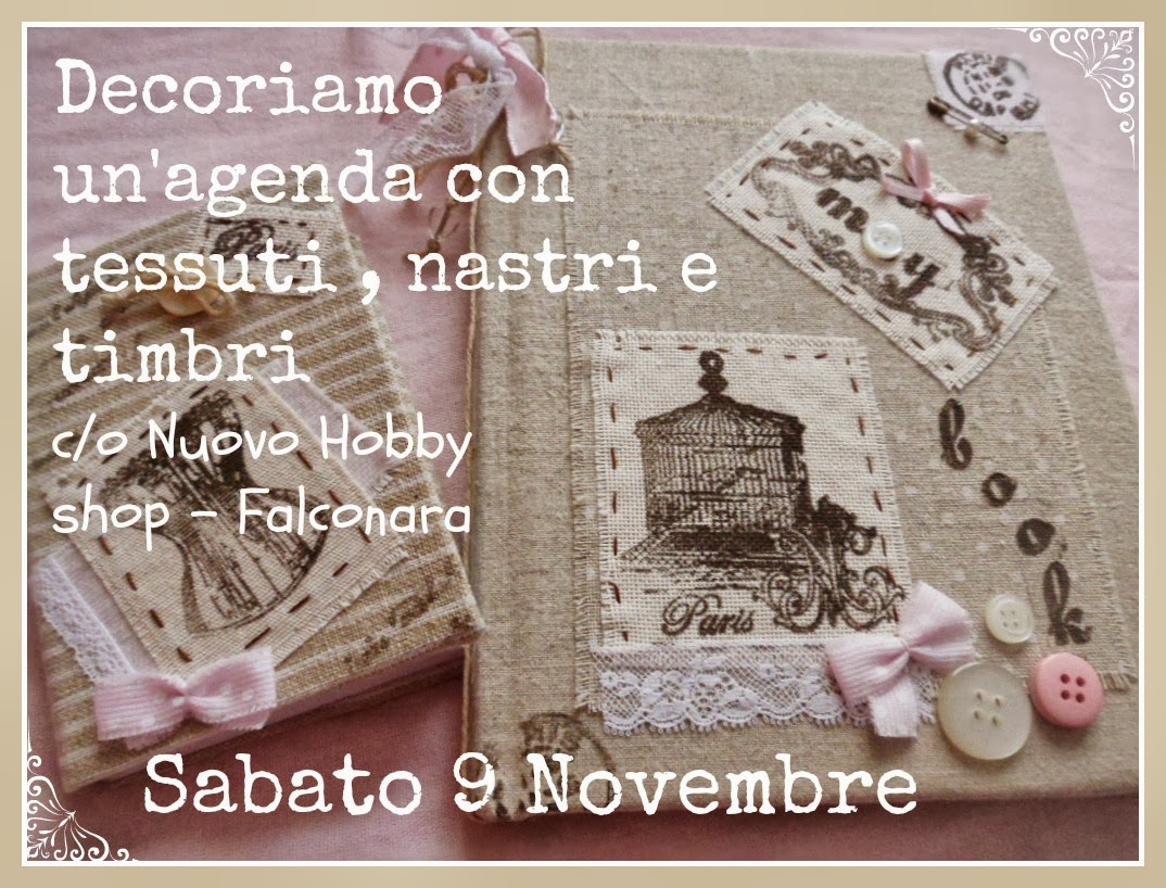 decoriamo un'agenda
