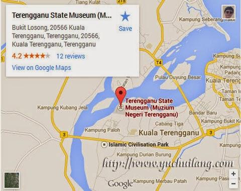 Peta Muzium Negeri Terengganu