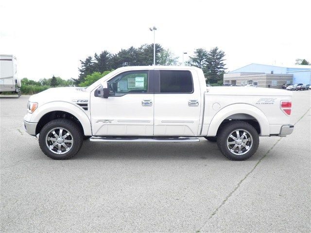 Lifted Ford Trucks: 2012 Ford F150 Tuscany FTX Lifted Truck