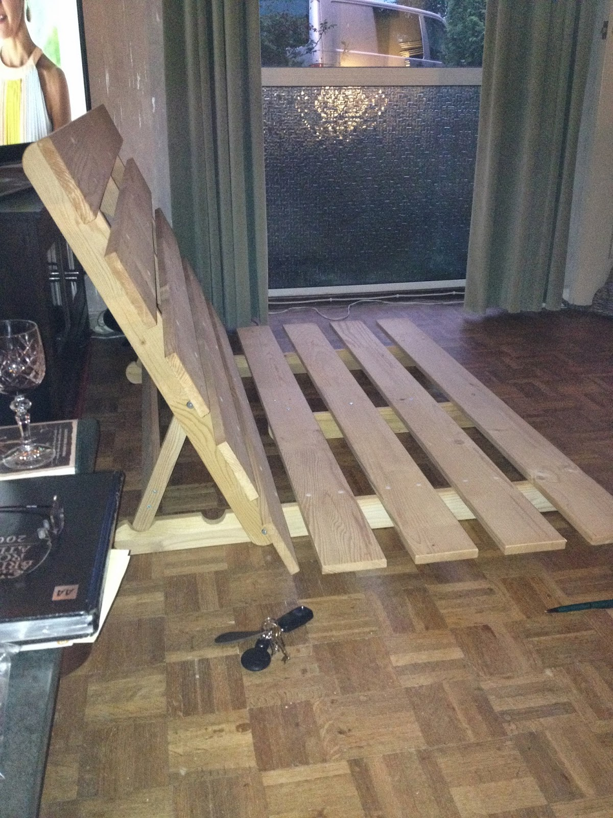 Bed Frame Construction