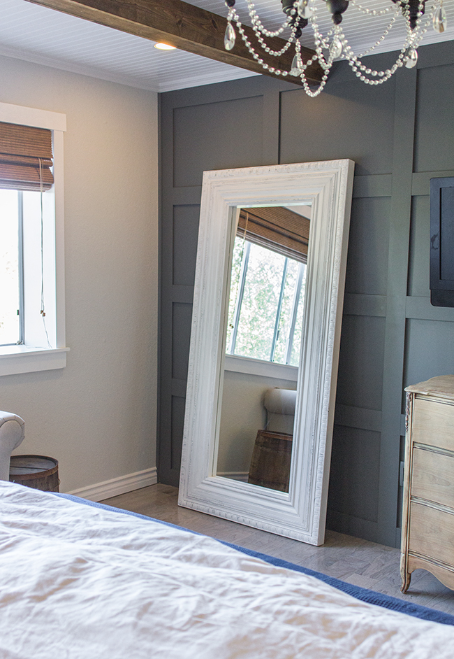 Master Makeover Diy Floor Mirror From Ikea To Vintage Latest Trends In Home Decorating 2014