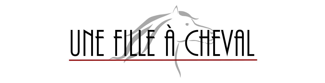 Une fille à cheval